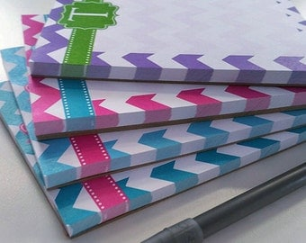 Monogram Notepad - Design Your Own - 4 x 5 [DYO]