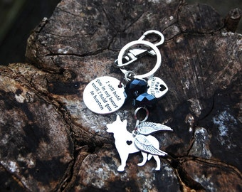 Dog Breed Memorial Keychain, Memorial Cat Keychain, Gifts For Her, Best Friend Keychain, Dog Silhouette Keychain, Birthday, Christmas Gift