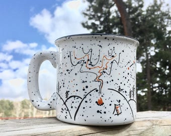 Campfire Nights mug // camping mug // June Resolution Release