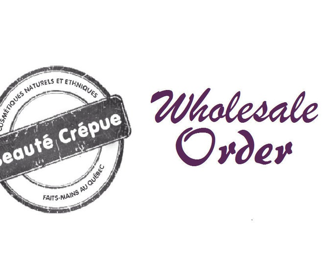 Reserved for Tonia B. - Wholesale order