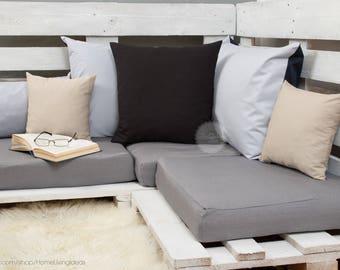 black linen throw pillow cover black throw pillow case linen cushion cover black pillow cover decorative pillow accent pillow couch pillow