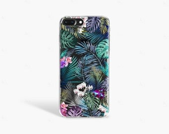 iPhone 6 Case Tropical phone case iPhone 7 Case Clear Tech Gifts Summer iPhone 7 Plus Case Transparent Samsung Galaxy S7 Edge Case