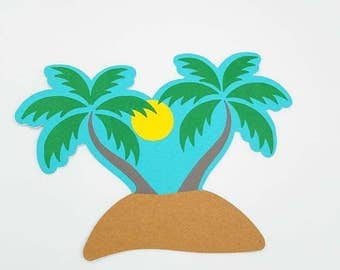 Palm Tree Invitation, Luau Party Invitations, Luau Shower, Tropical Party Invitation, Life's a Beach, Tropical Baby Shower, Aloha Invites