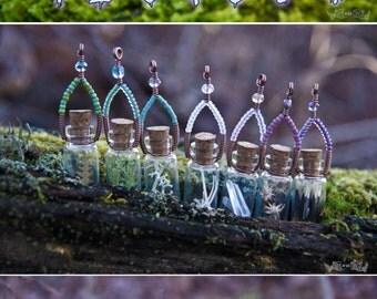Specimen Bottle Necklace