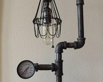 lamp, table lamp, steampunk lamp