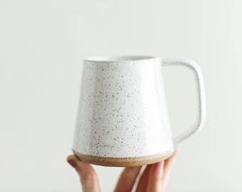 Wake Mug - Handmade pottery mug for coffee or tea