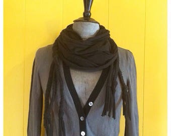 Betsey Johnson scarf with braids