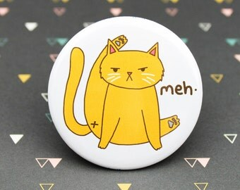 Funny Cat Pin, Cat Butt Pin, Funny Cat Lover Gift, Awkward Cat Pin, Cat Butt Gift, Humor Gift, Gag Gift, Kitty Butt, Angry Cat Magnet