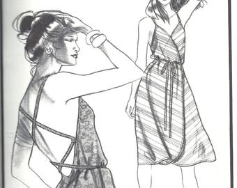 80s Stretch & Sew 1596 Maui Dress Sewing Pattern UNCUT