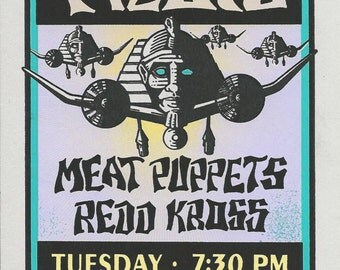 Stone Temple Pilots Handbill 1994  Astro Arena Houston        Artist:  Mark Arminski