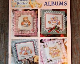 Cherished Teddies Memory Albums, Album Making Book, Memory Album Instructions
