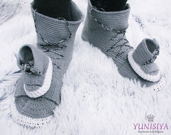 Men's slippers The Yezzy 750 Boost Knitted shoes Slippers The Yezzy 750 Boost Crochet slippers Men's Slippers Sneakers slippers Shoes