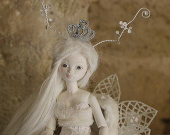 BJD, porcelain doll Flumo, The Queen of the Rennes
