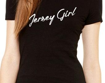 jersey girl women's shirt     new jersey pride