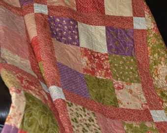 twin quilt sofa throw handmade quilts bed quilts cornucopia - Twin Quilts