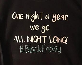 Black Friday Long Sleeve T Shirt