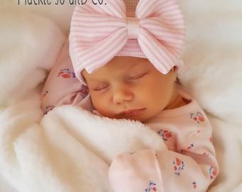 Newborn hospital baby girl cap BABY GIRL HAT baby girl newborn hat newborn beanie hospital cap newborn girl newborn hat girl baby newborn