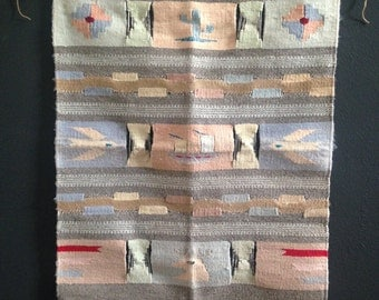 vintage southwestern wall hanging
