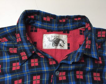 Vintage Early 80s New Wave Jekyll & Hyde Shirt