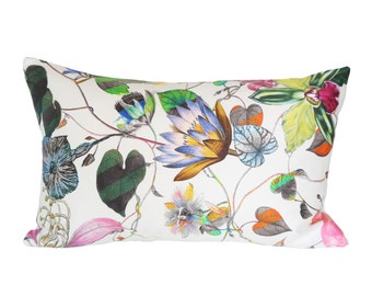 READY TO SHIP - 12 x 19 Malmaison Opiat designer pillow cover - Christian Lacroix - (for 13x20 insert)