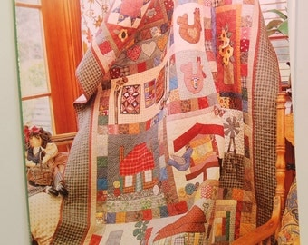 Favourite Quilts (c. 2000)  Published by Craftworld Books, Australia, Quilting, Country Style Quilting, Home Decor, Sewing, Gift Ideas