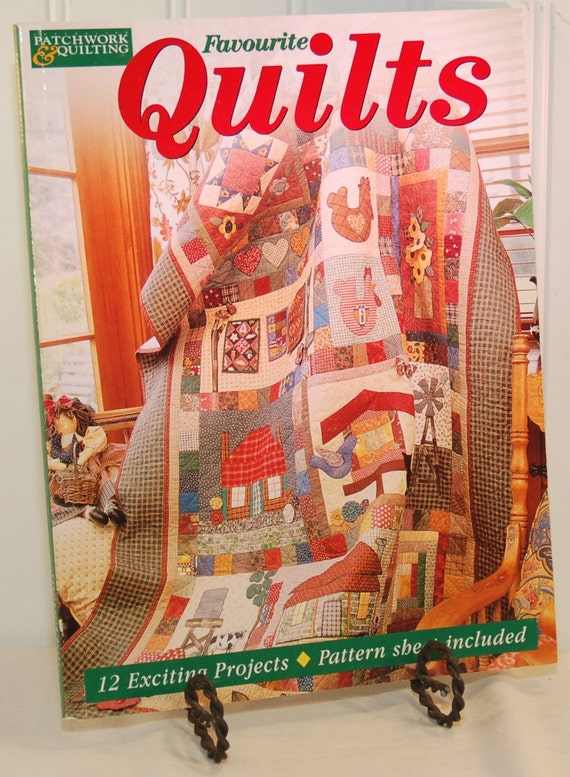 Favourite Quilts C 2000 Published By Craftworld Books Australia Quilting Country Style