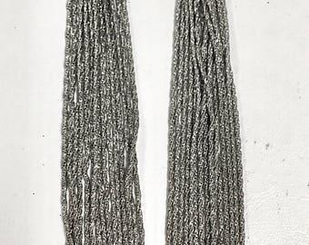 Multi chain necklace - silver