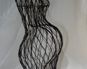 Pregnant Mom Wire Form - To Use for Baby Shower Decorations