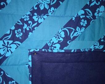 Hawaiian Baby Quilt, Hawaiian Baby Blanket, Hawaiian Baby Gift, Baby Boy Quilt, Hawaiian Baby Shower, Baby Blanket Boy, Hawaiian Print