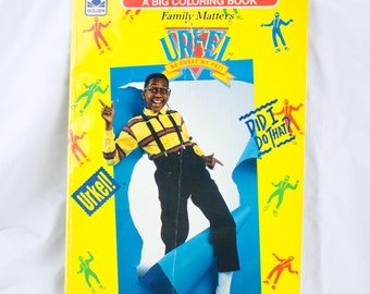 """URKEL Golden Family 1992© A Big Coloring Book """"Did I Do That?"""""""