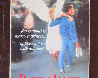 Date with an Angel vintage 80's comedy/fantasy/romance vhs movie for sale!!!