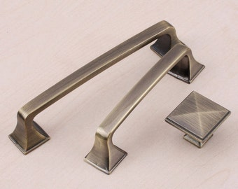 Modern Contracted Cabinet Pull Handle Drawer  Pull Handle Retro European Door Pull Handle Dresser Pull Handle ----3 types473