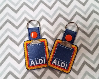 Aldi - Key Fob - Aldi Quarter Keeper