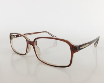 mens eyeglasses frame brown rectangular glasses reading glasses eyejets eyewear brown eyeglass frames