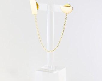 Shapes Collar Pin