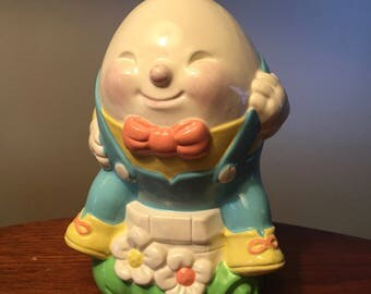 1982 Humpty Dumpty bank made by Avon