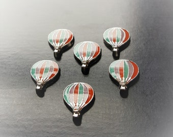 Hot Air Balloon Floating Charm for Floating Lockets-Gift Idea