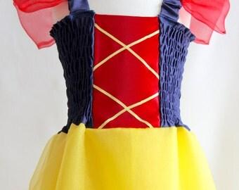 Princess Dress, Snow White Costume, Snow White Inspired Dress, Snow White Dress, Disney Princess, Princess Party Dress, Princess Costume