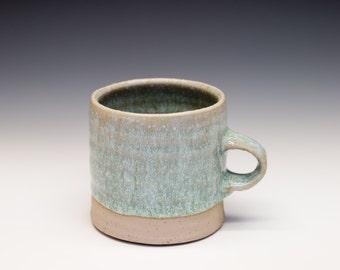 High Fired Porcelain Blend Mug - Nuka Ash Glaze, 0225002