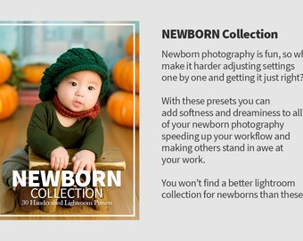 30 Newborn Lightroom Presets
