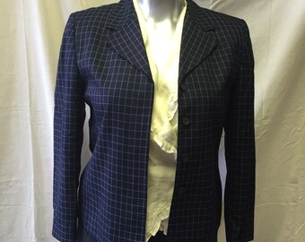 Vintage Pendleton Windowpane blazer