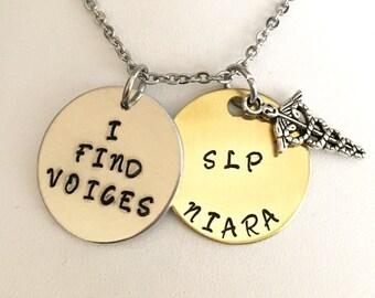 Speech language pathologist, SLP, i find voices, speech therapist, speech therapy, gifts for slp, gifts of speech, Valentines Day gifts