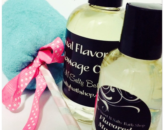 Cotton Candy Flavored Massage Oil