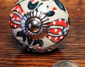 Dresser knob - Drawer knob - Cabinet knob - Ceramic Knob - Drawer pull - Ceramic Knob - Ceramic Drawer Pull - Dresser drawer pulls