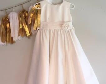 Vintage Baby Girls' Dress White Size 2T