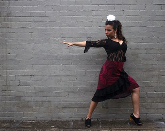 MANDALA Flamenco skirt