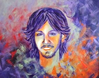 Custom portraits - oil on canvas - Portrait - Painting on demand