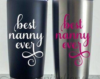 Gifts for Nanny, Nanny, Nanny Gift, Gift for Nanny, Nanny Mug, Nanny Travel Mug, Nanny Birthday, Nanny Cup, Nanny Christmas Gift, Best Nanny