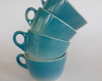 Set of 4 Syracuse China Tea Cups