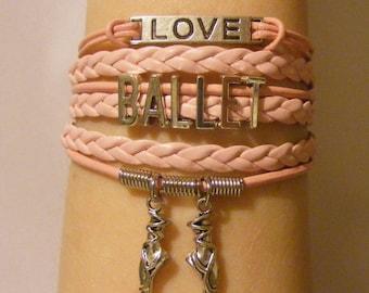 Ballet bracelet, ballet jewelry, ballerina bracelet, ballerina jewelry, dance bracelet, dance jewelry, fashion bracelet, fashion jewelry,